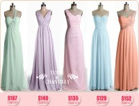 New Summer Bridesmaid Dress Fun: Pretty Pastels | Tulle ...