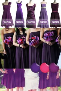 deep purple bridesmaid dresses | Tulle & Chantilly Wedding ...