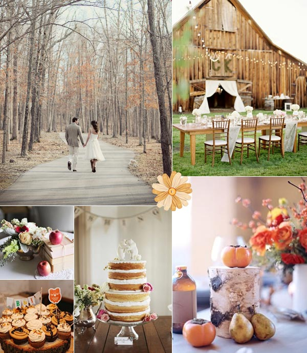 Fall Wedding Ideas  Tulle  Chantilly