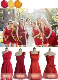 Bridesmaid Dresses Fall 2013  Amazing Color Inspiration ...