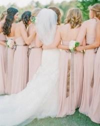 nude bridesmaid dresses | Tulle & Chantilly Wedding Blog