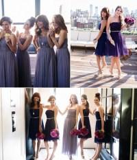 bridesmaid dress with belt | Tulle & Chantilly Wedding Blog