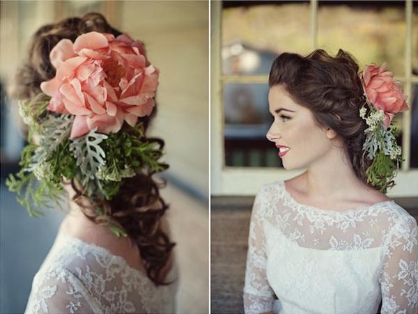wedding hairpieces ideas