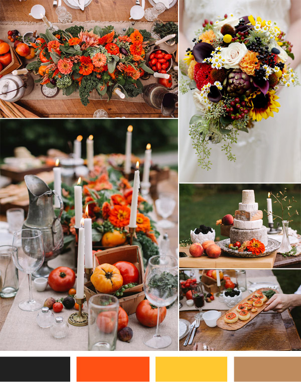 Autumn Vintage Wedding
