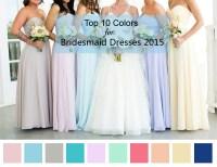rose bridesmaid dresses 2015 | Tulle & Chantilly Wedding Blog