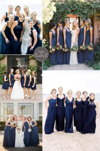 bridesmaid dresses colors | Tulle & Chantilly Wedding Blog