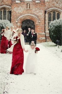Hot Christmas Winter Wedding Color Palette Ideas   Tulle ...