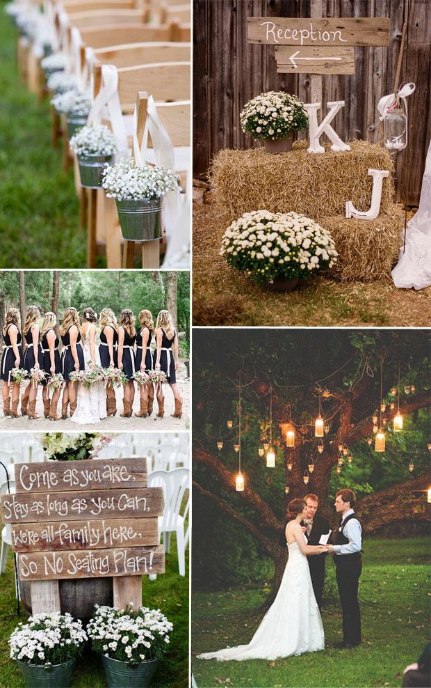 rustic wedding inspiration  Tulle  Chantilly Wedding Blog