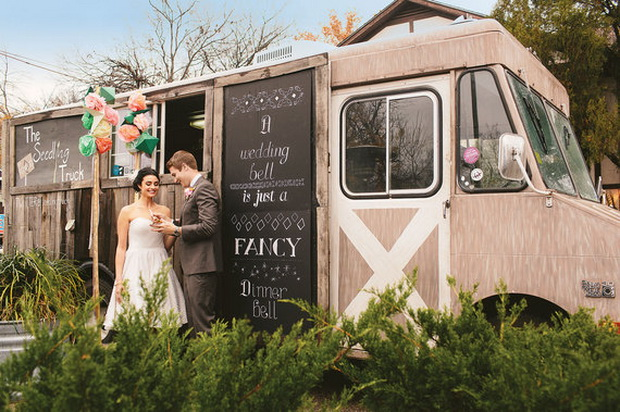 Decorate Truck Wedding