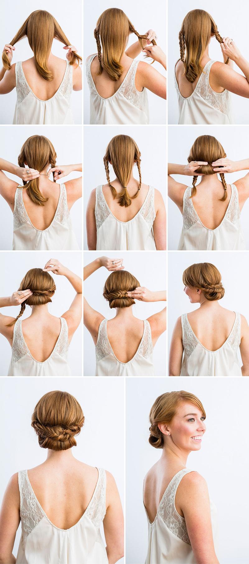 10 Best DIY Wedding Hairstyles with Tutorials  Tulle  Chantilly Wedding Blog