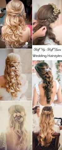 Elegant Wedding Hairstyles: Half Up Half Down | Tulle ...
