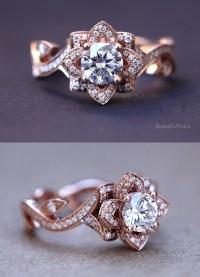 15 Stunning Rose Gold Wedding Engagement Rings that Melt ...