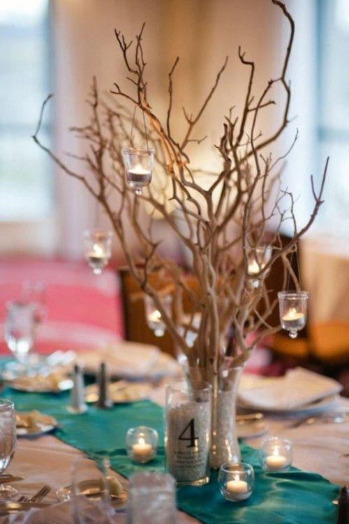 Small Centerpieces Wedding Reception