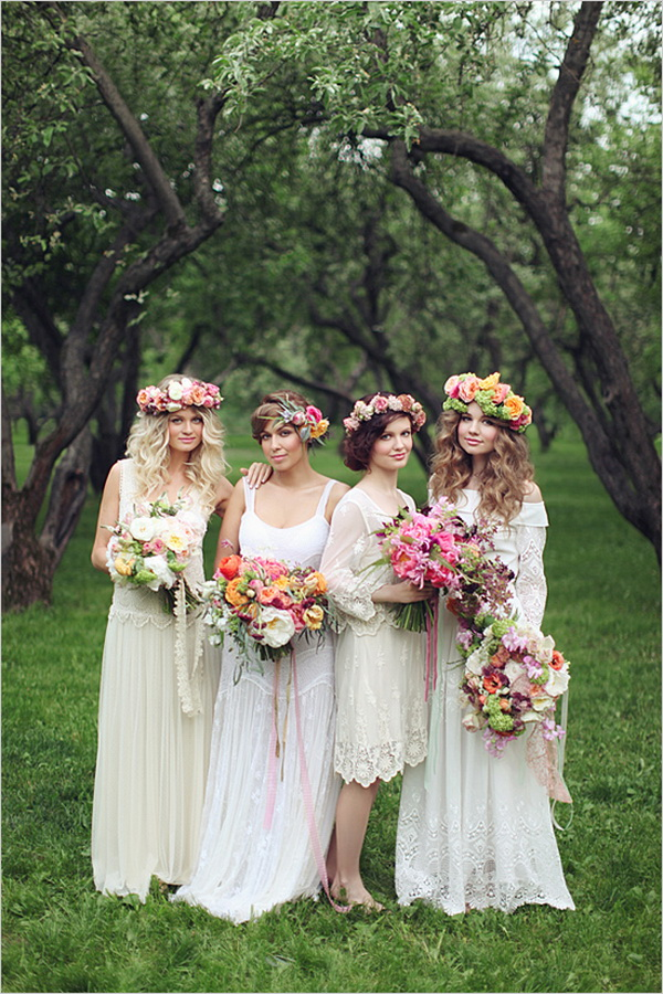 Top 4 Bridesmaid Dresses Trends Your Maids Will Love in FallWinter  Tulle  Chantilly Wedding Blog