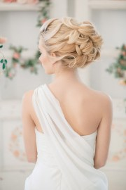 bridal wedding hairstyles bridesmaid