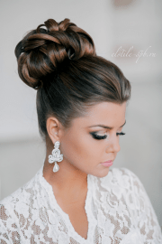 wedding hairstyles tulle & chantilly