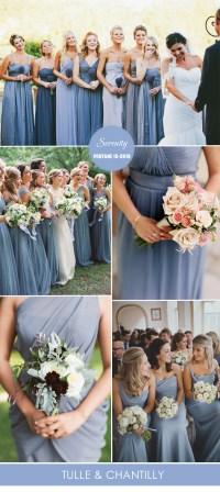 Top 10 Pantone Colors for Spring Summer Bridesmaid Dresses ...