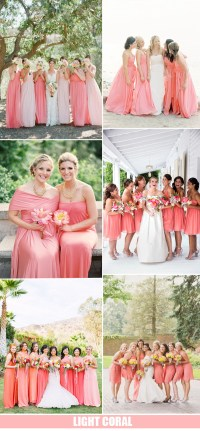 Top 10 Bridesmaid Dresses Color Trends 2016 | Tulle ...