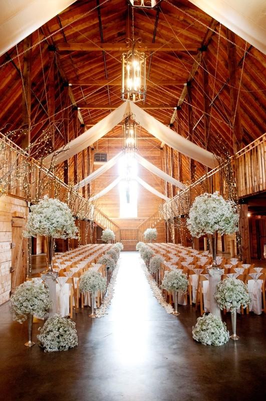 30 Inspirational Rustic Barn Wedding Ideas  Tulle  Chantilly Wedding Blog
