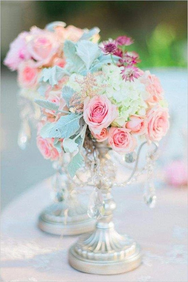 27 Stunning Spring Wedding Centerpieces Ideas  Tulle  Chantilly Wedding Blog