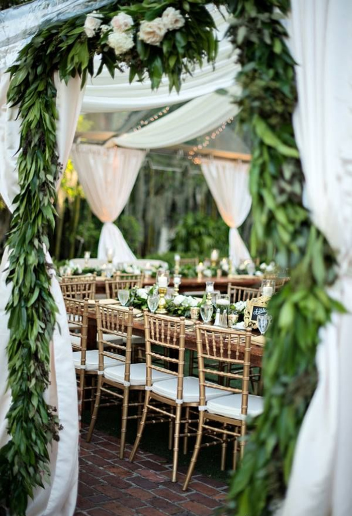 21 Pretty Garden Wedding Ideas For 2016 Tulle & Chantilly