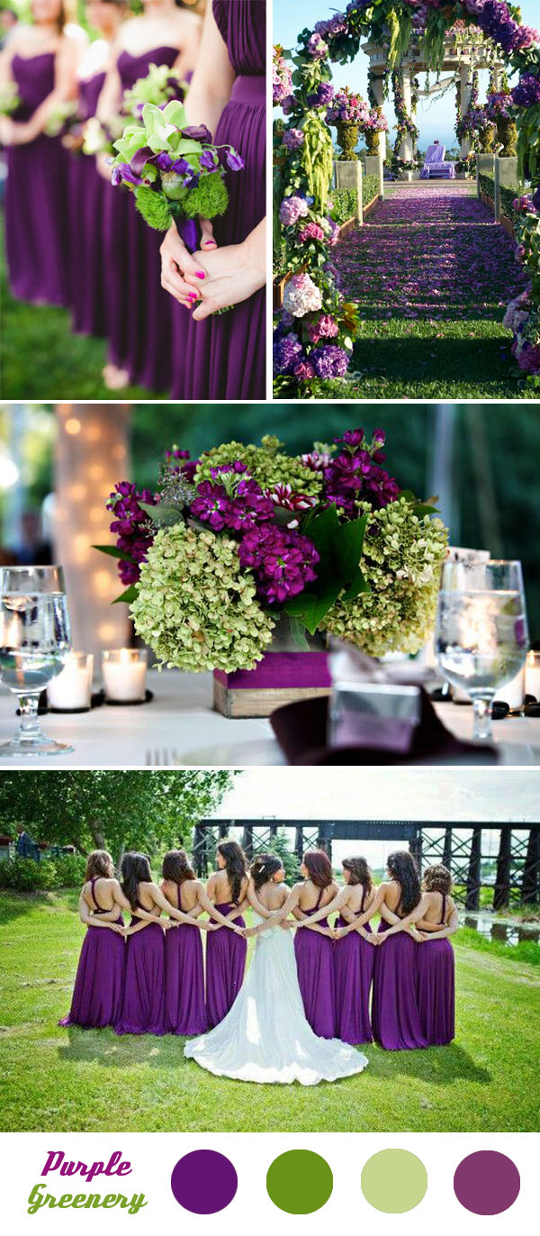 Five Fantastic Spring and Summer Wedding Color Palette Ideas with Green  Tulle  Chantilly