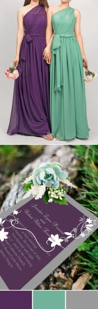 Purple Wedding Color Ideas: Beautiful Bridesmaid Dresses ...
