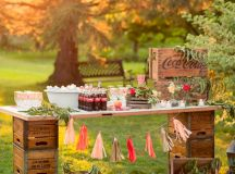 20 Great Ideas To Use Wooden Crates At Rustic Weddings ...