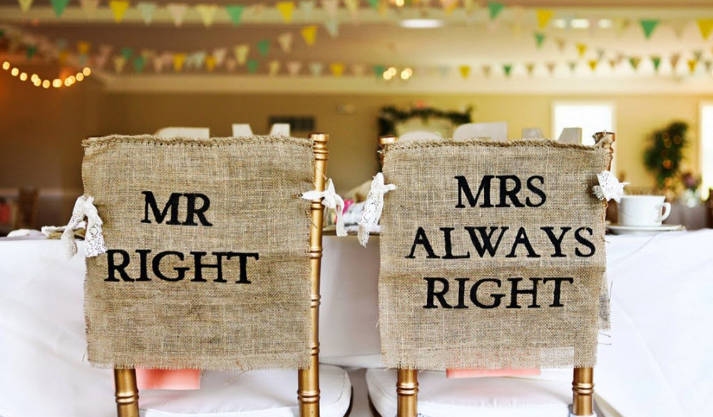 wedding decorations chairs receptions steel chair to the head pdf 30 awesome sign decor ideas for bride groom tulle no matter what your style is there are endless options decorating yours and s reception with