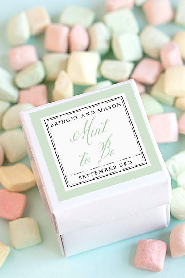15 BudgetFriendly DIY Wedding Favors  Tulle  Chantilly