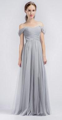 Brown Tulle Bridesmaid Dresses - Cheap Wedding Dresses
