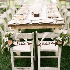 Wedding Bride And Groom Chairs Best Rocking For Outside 30 Awesome Sign Decor Ideas Tulle His Hers Chair Signs