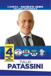 Scarica il santino elettorale di Tullio Patassini