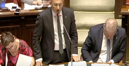 """PATASSINI """"Oggi è il momento del corraggio! Lega e Governo vogliono realmente far ripartire l'Italia"""""""
