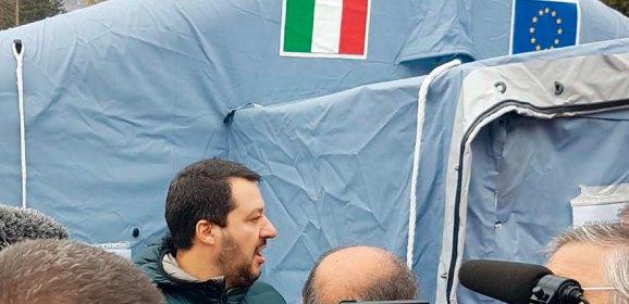 Iniziative del governo Lega a favore delle comunità colpite dal sisma centro Italia 2016