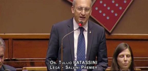 """TERREMOTO/ PATASSINI (Lega): """"COLLEGHI PD E CINQUESTELLE BASTA CON LE BUGIE SUGLI EMENDAMENTI, AGITE CONCRETAMENTE CHE È MEGLIO"""""""