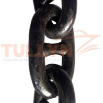 Black Painted Stud Link Anchor Chain