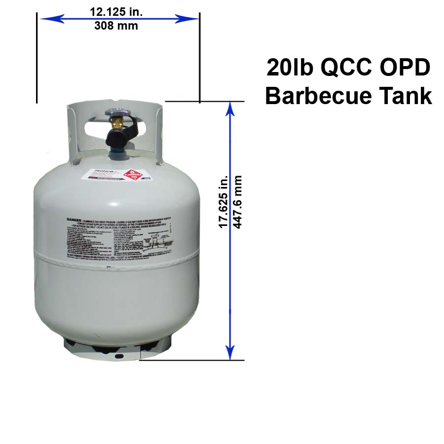 medium resolution of 20 lb qcc opd barbecue tank