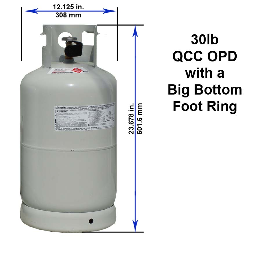 medium resolution of 30 lb qcc opd with a big bottom foot ring