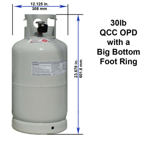 small resolution of 30 lb qcc opd with a big bottom foot ring