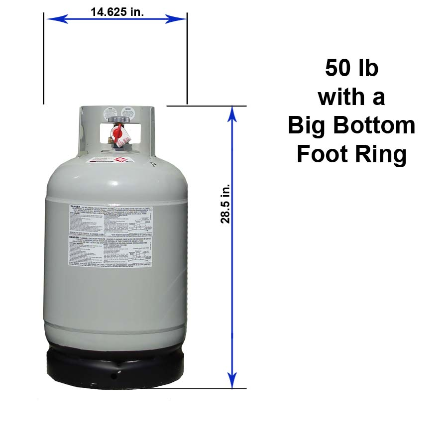 hight resolution of 50 lb with a big bottom foot ring
