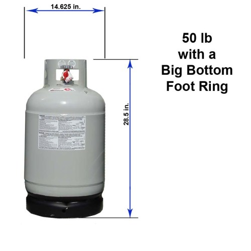small resolution of 50 lb with a big bottom foot ring