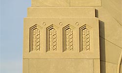 Tulsa Union Depot facade ornamentation