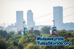 Tulsa Skyride and downtown Tulsa: Save Our Skyride