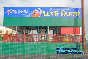 Tulsa Skyride: new look for exterior of western station in 2007. #tulsaskyride