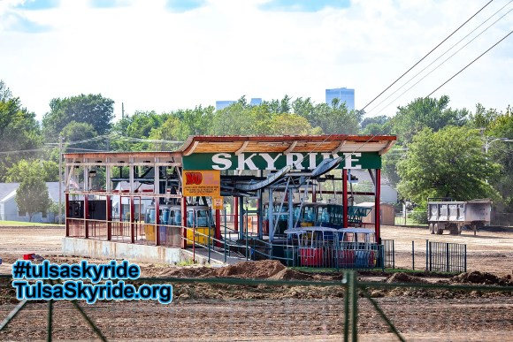 Tulsa Skyride without Bell's in 2007