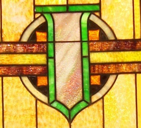 Center - Stained Glass Project