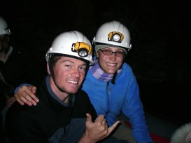 Exploring Glow Worm Caves