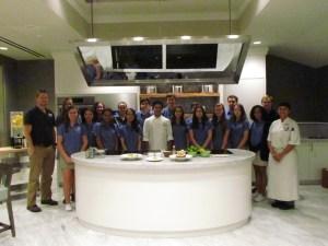 Peruvian Ceviche at the Ritz-Carlton, Grand Cayman