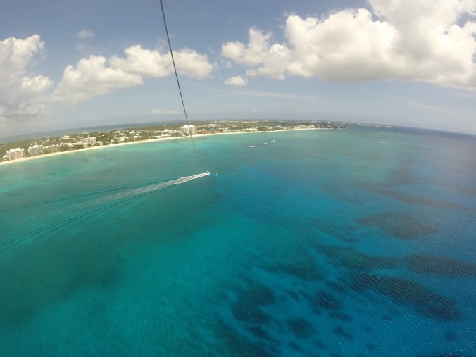 Parasailing in Grand Cayman